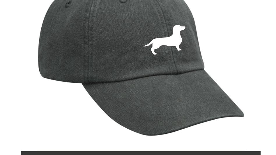 dark gray classic hat