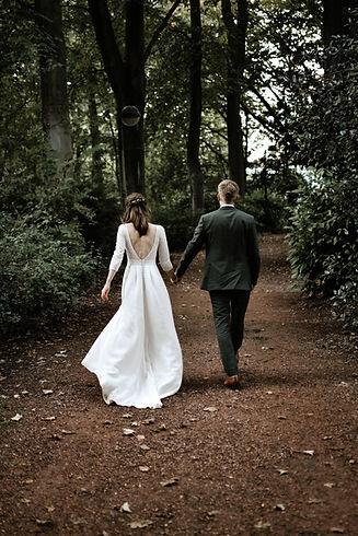 wedding couple forrest huwelijk portret fotograaf