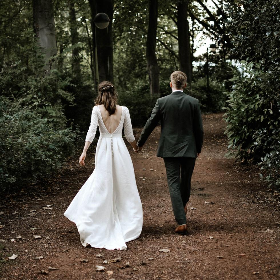 wedding couple forrest huwelijke trouw fotograaf