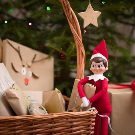 Elf on The Shelf , l'elfo sulla mensola per Natale.