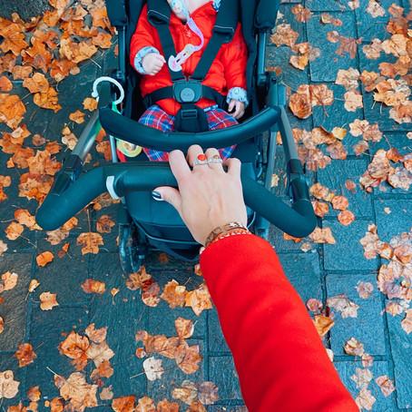 Passeggiate all'aria aperta in gravidanza e con i bebè