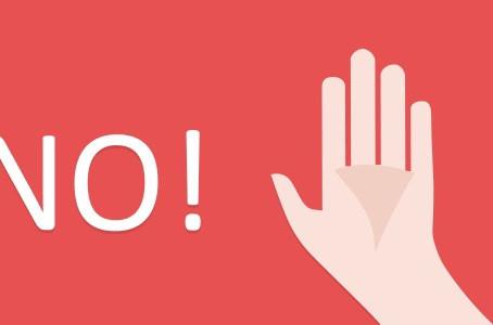 """I primi """"NO"""", come aiutano i nostri bambini:"""