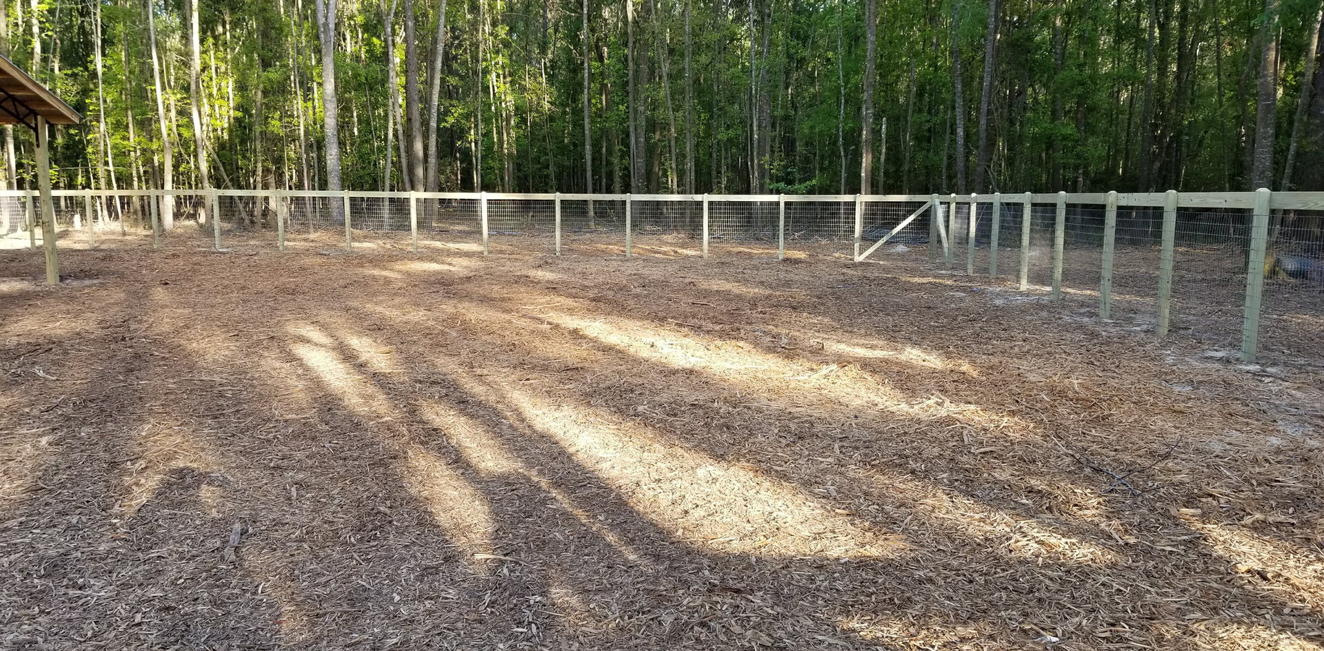 Horse Fence with Ranch Style Gates