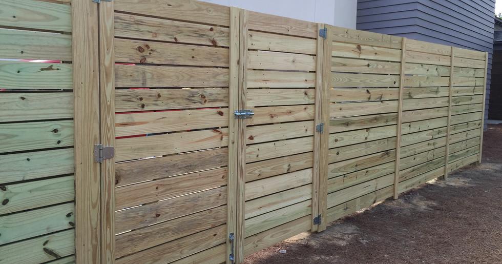 Board Wood Fences