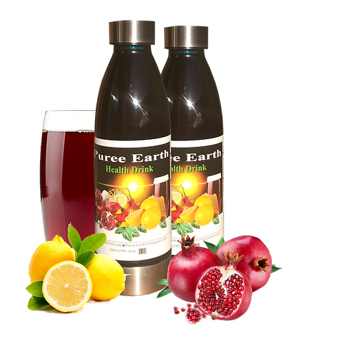 2 Bottle Pack  Puree Earth 44oz