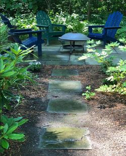 Shade Garden with Seating
