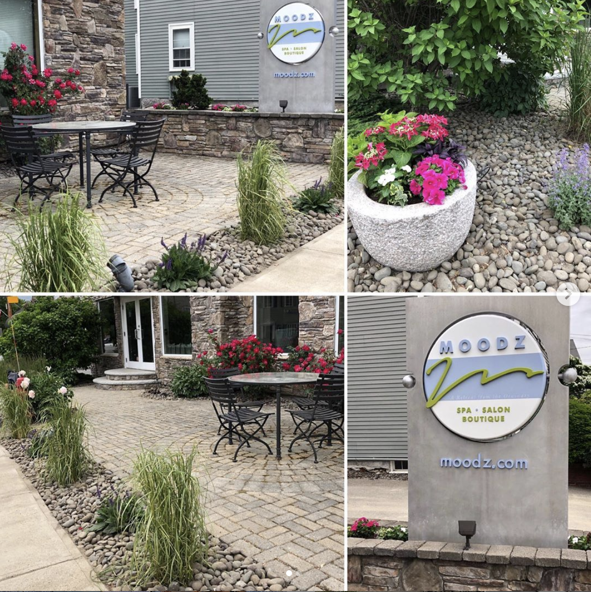 Business Entrance Garden Makeover