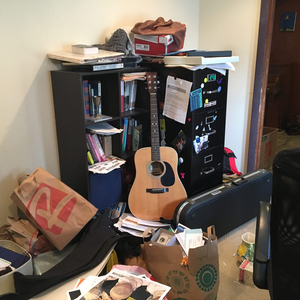 Disorganized office in need of help