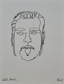 Retrato de anton barros de manuel penin