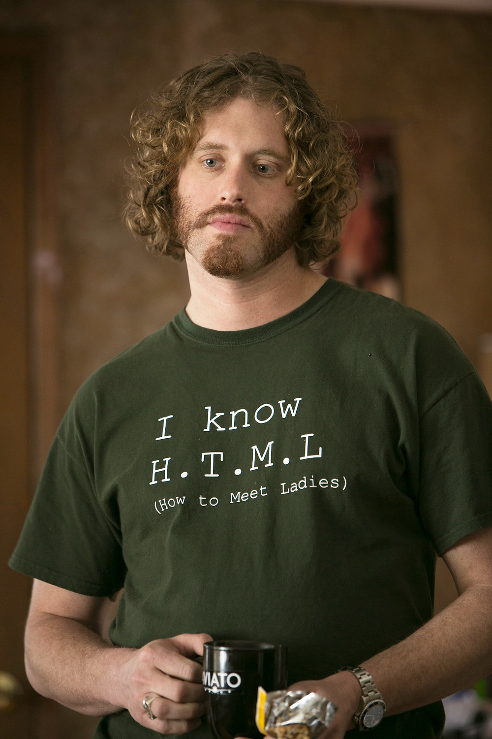 "TJ Miller of ""Silicon Valley"""