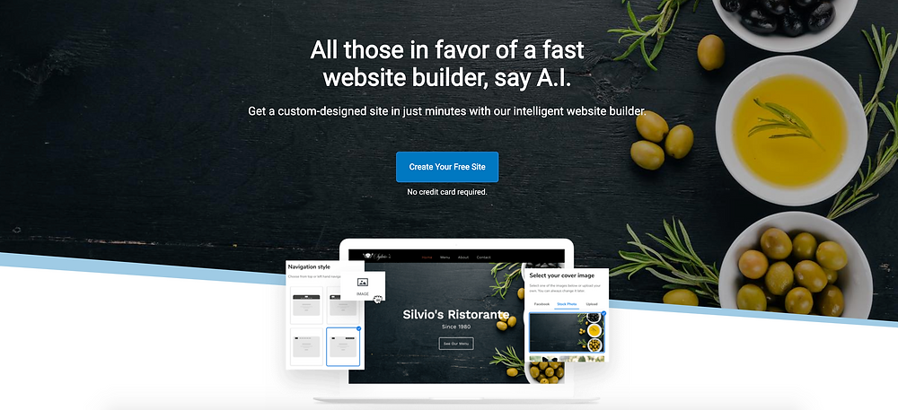 Constant Contact - New Website Builder
