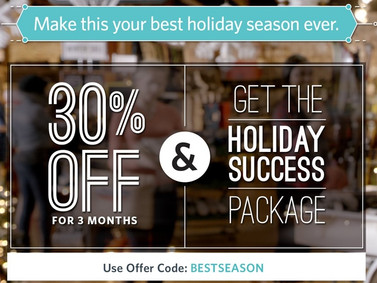 Special Holiday Promotion from Constant Contact