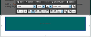 """Resize the table to """"button size"""""""