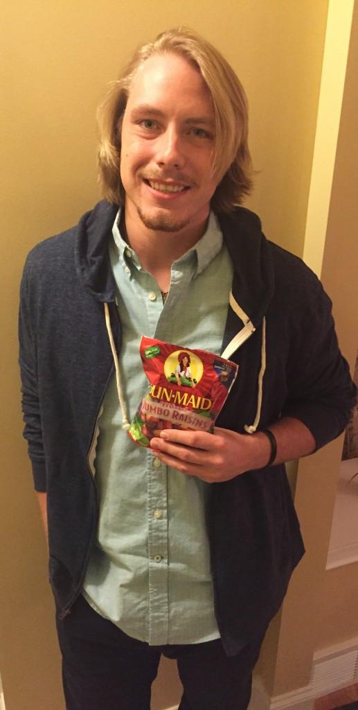 Brad with Raisins