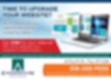 Website Referral Program Postcard - Refer us & get $100