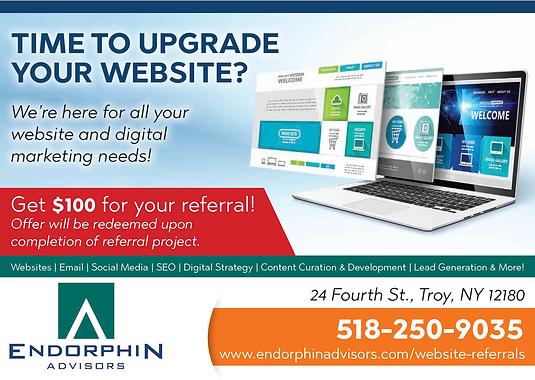 Website Referral Program | Endorphin Advisors