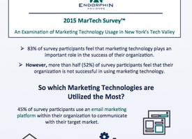 Endorphin Advisors Publishes Findings of Marketing Technology Usage