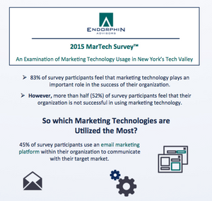 2015 MarTech Survey Infographic Preview