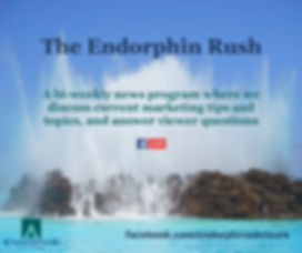 The Endorphin Rush, A bi-weekly news program from Endorphin Advisors where we discuss current marketing tips and topics, and answer viewer questions