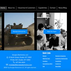 Sturges Electronics, LLC website