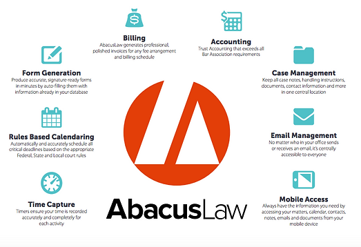 Abacus Law, legal management software from AbacusNext
