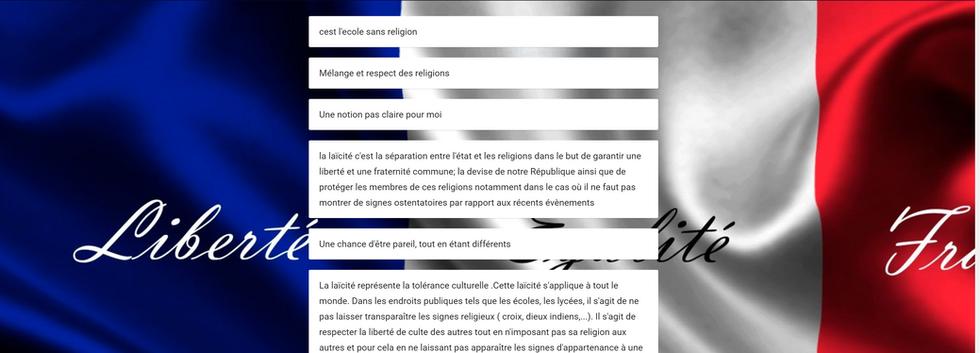 Laïcité 2015