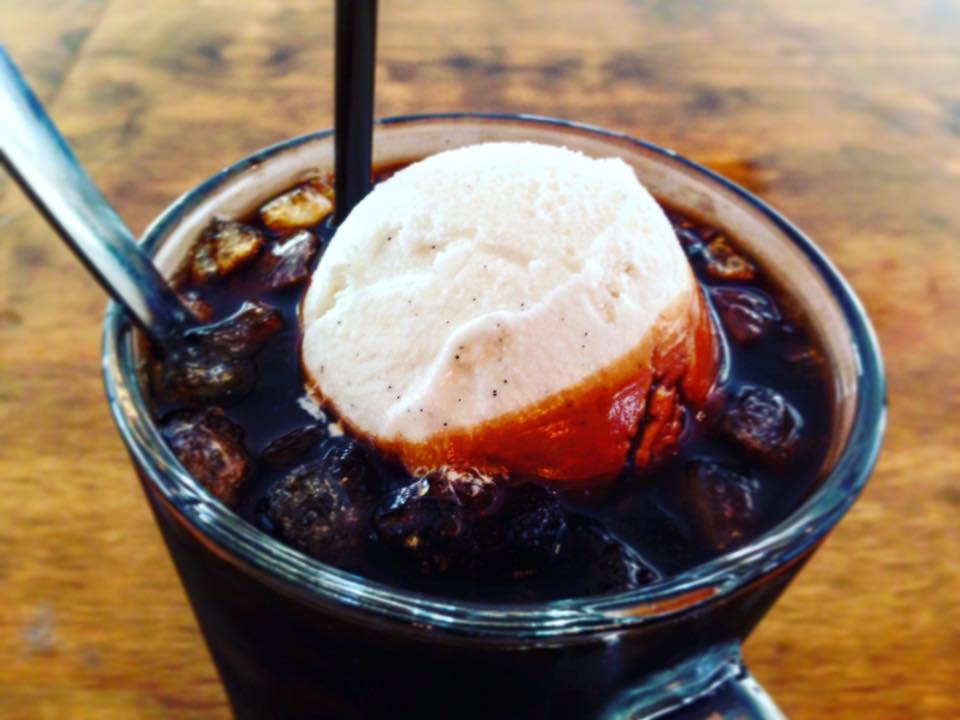 Thai Coffee Float