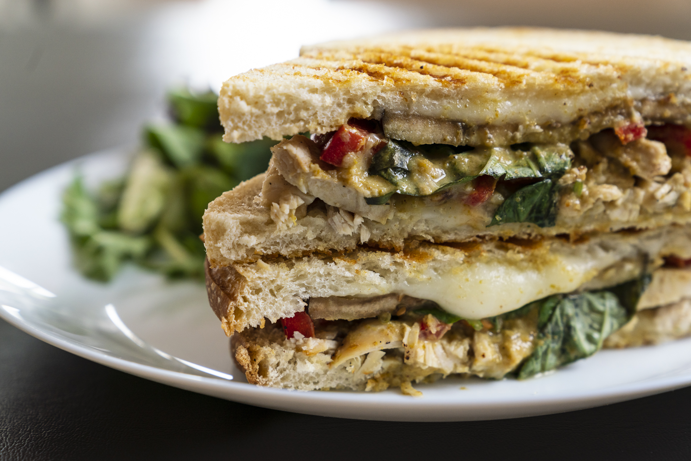Green Curry Sandwich