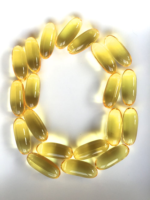 Omega 3,  filtered of mercury and  other heavy metals