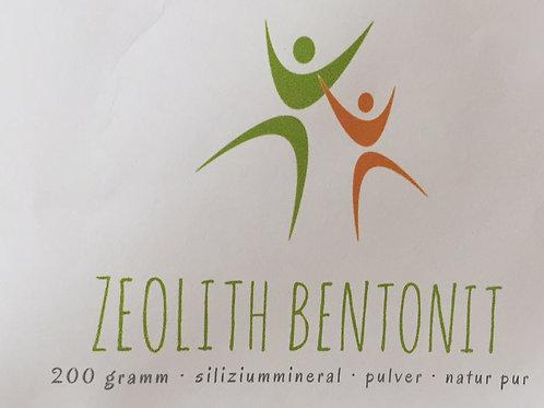 Zeolith Bentonit   500g  Pulver