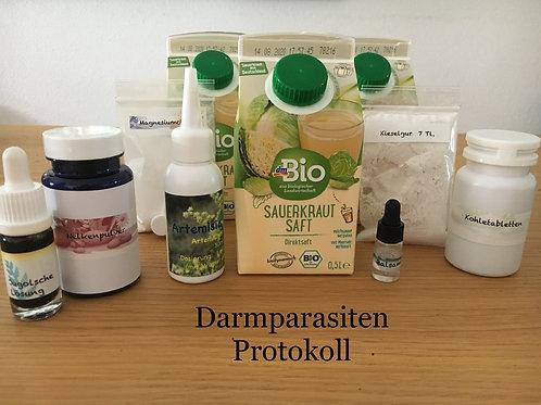 Darmparasiten Kur  (1 Monat)  nach TAN      Parasitus EXX  Vol. 2