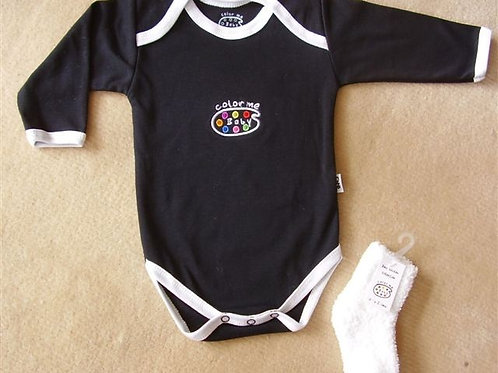 """Baby Onesie,  """"CMB""""    Design  Color me Baby  by Natalie Stangl"""
