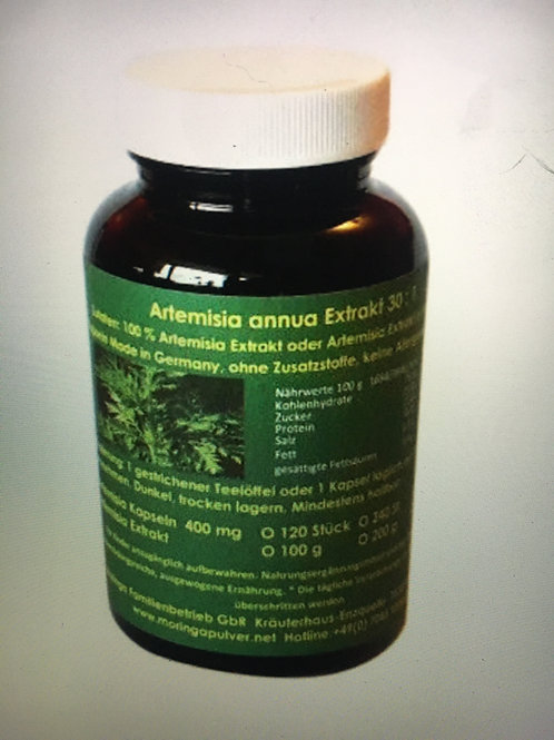 Artemisia Annua 450mg   120 capsules