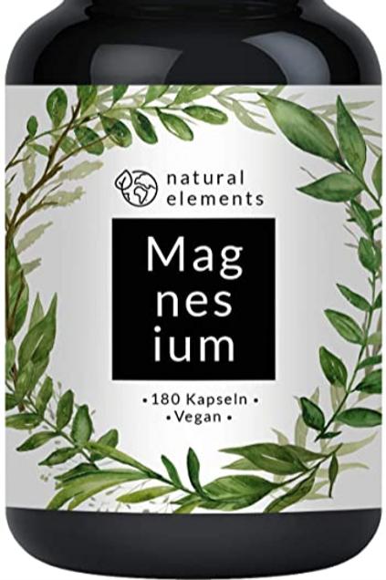 Magnesium  180 Kapseln  750mg