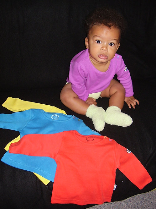 Baby T-Shirt,            Design:  Color me Baby     by Natalie Stangl