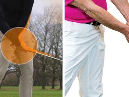 Alaspäin pelaaminen avain hyväksi golfariksi!