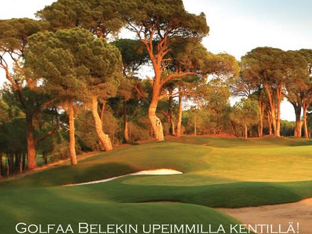 Lähde golfmatkalle: Bodyswingiä Belekissä