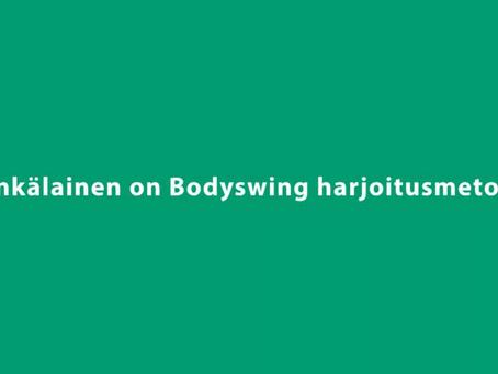 Bodyswingin opetus/oppimismetodi