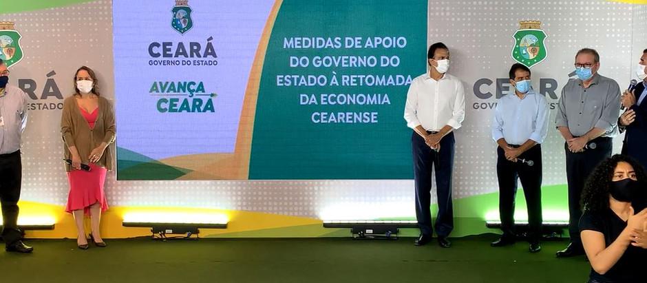 Camilo anuncia refis e simplificação de ICMS para impulsionar economia do Ceará