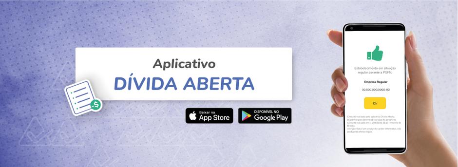 Você conhece o aplicativo, Dívida Aberta?