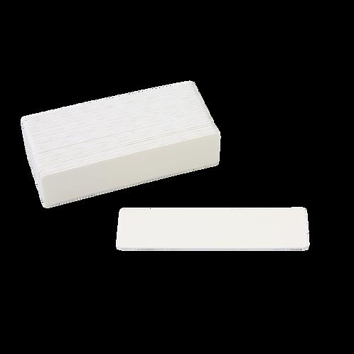 Сменный файл - прямоугольник, #100,#180 цвет белый, 132 х 36 мм.
