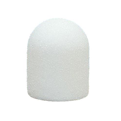 Колпачки для педикюра, 10 шт,  диаметр 13 мм. Цвет белый..