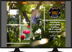Site Phytocosmo vue page accueil.