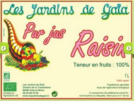 etiquettes les JDG jus de fruits 2