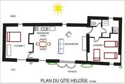 Plan Eloïse Domaine Le Chapelier