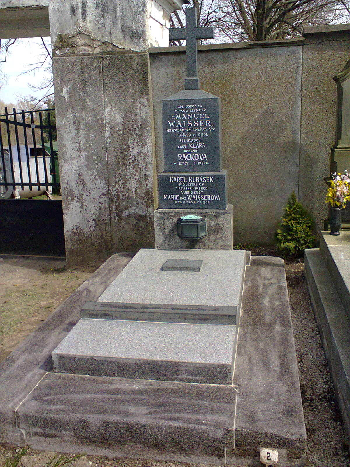 Rekonstrukce hrobu