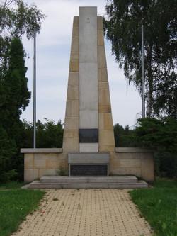 Památník v obci Leškovice