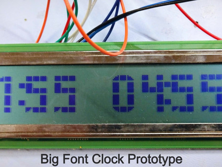 Big Font Clock - Relieve for Old Eyes