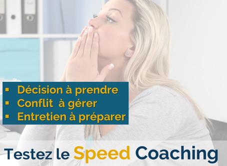 Testez le SPEED COACHING avec un coach certifié !