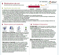 Leadership Modèle Quotient Emotionnel EQ 360 EQ-i 2.0 MHS Intelligence Emotionnelle